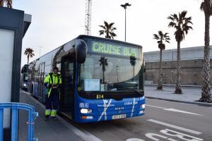 shuttle bus hafen barcelona spanien aida familien kreuzfahrt