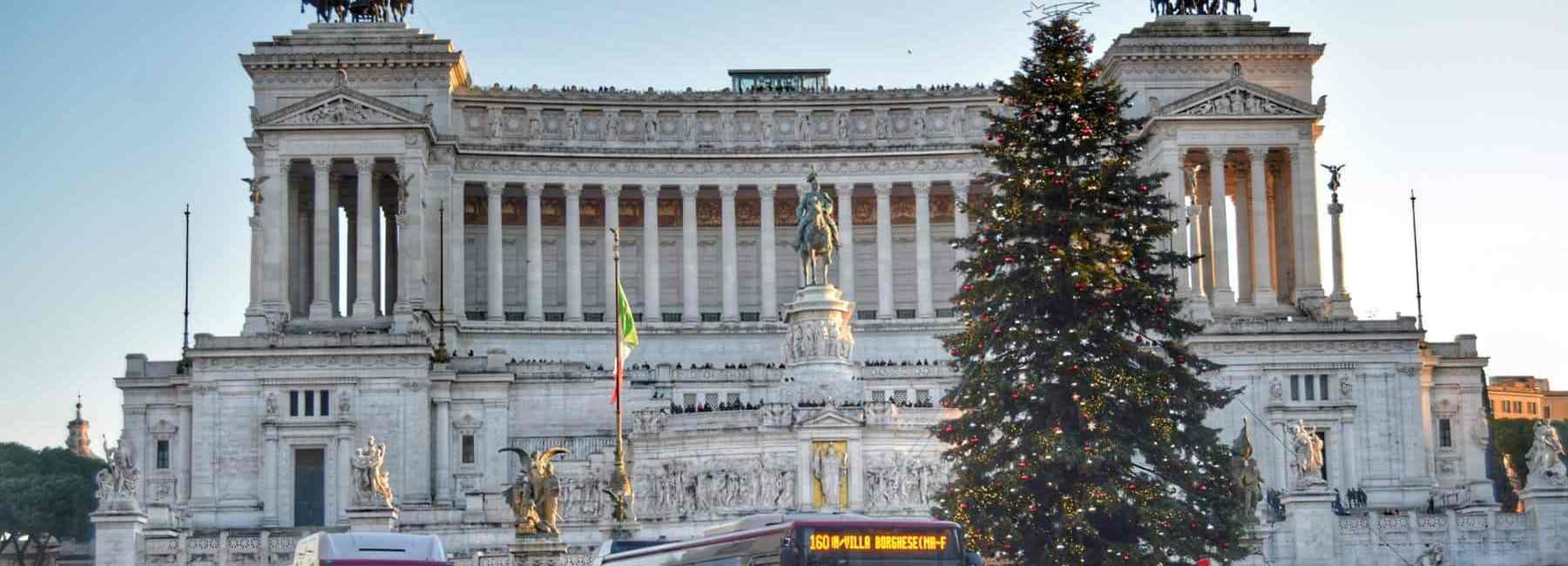 00 piazza venezia dezember vatikan rom italien