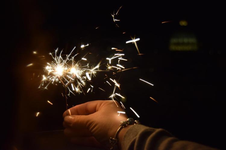 felice anno nuovo silvester rom italien