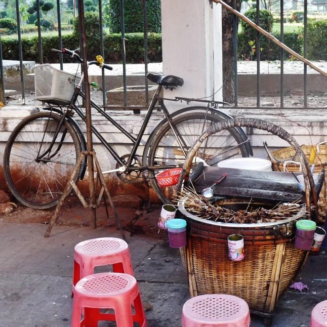 Straßenküche in Yangon/Myanmar