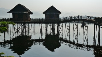 Früher Morgen am Inle See