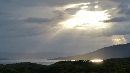 Sommerabend in Schottland