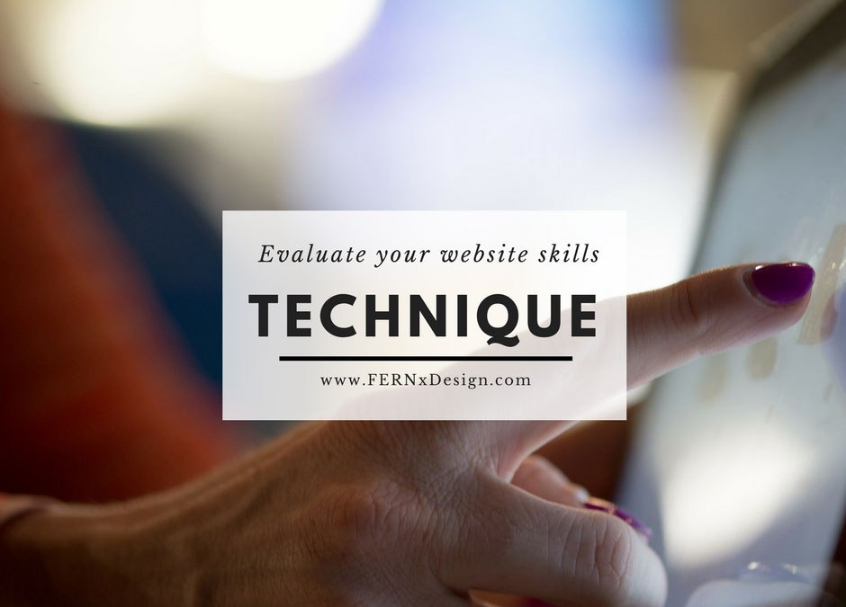 How to easily evaluate your tech skills before creating a website