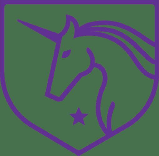 Camille Leblanc-Bazinet Jacked Unicorn Logo