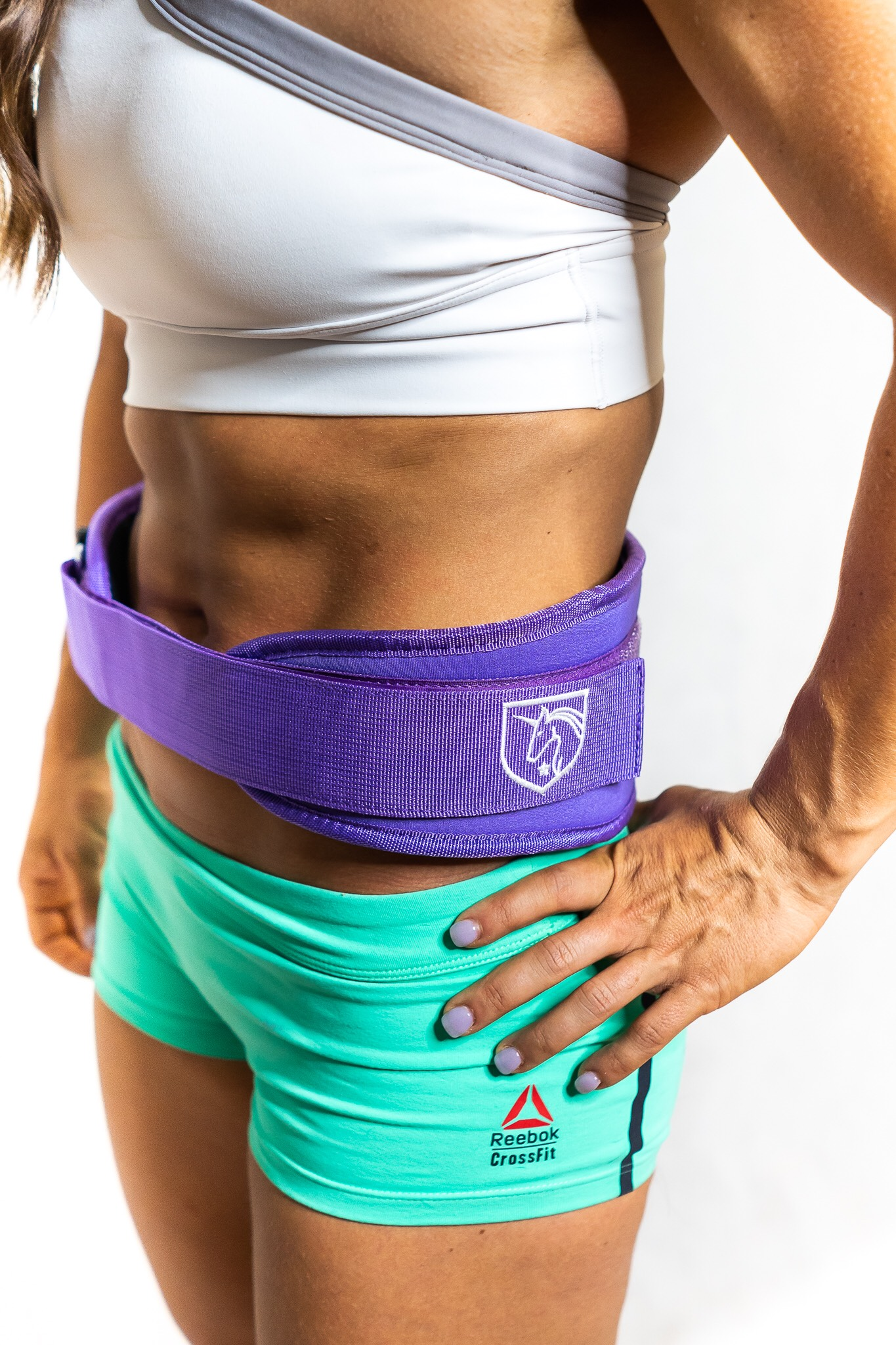 CLB Nation Weightlifting Belt - Purple   Féroce Fitness