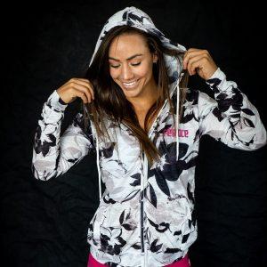Féroce lightweight zip hoodie