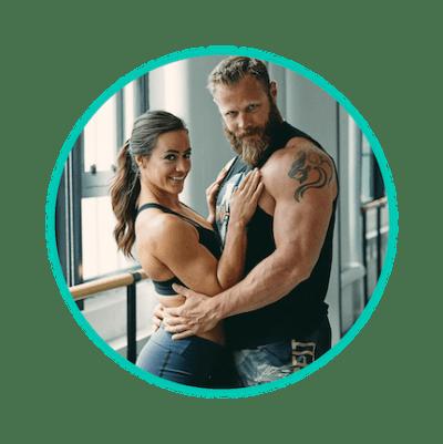 Camille Leblanc-Bazinet & husband Dave Lipson