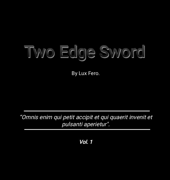 Read more about the article My Book: Two Edge Sword.