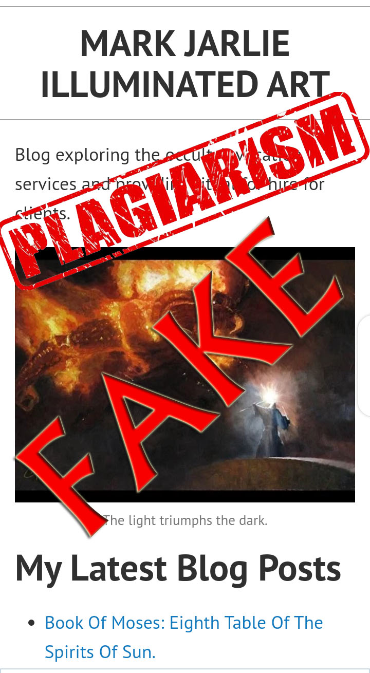 Read more about the article I'm Under Attack: PLAGIARISM.