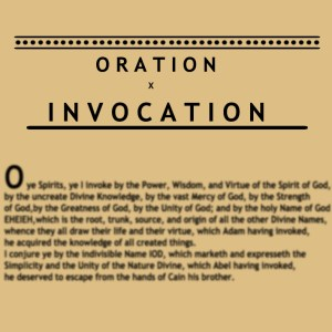 Invocation And Oration
