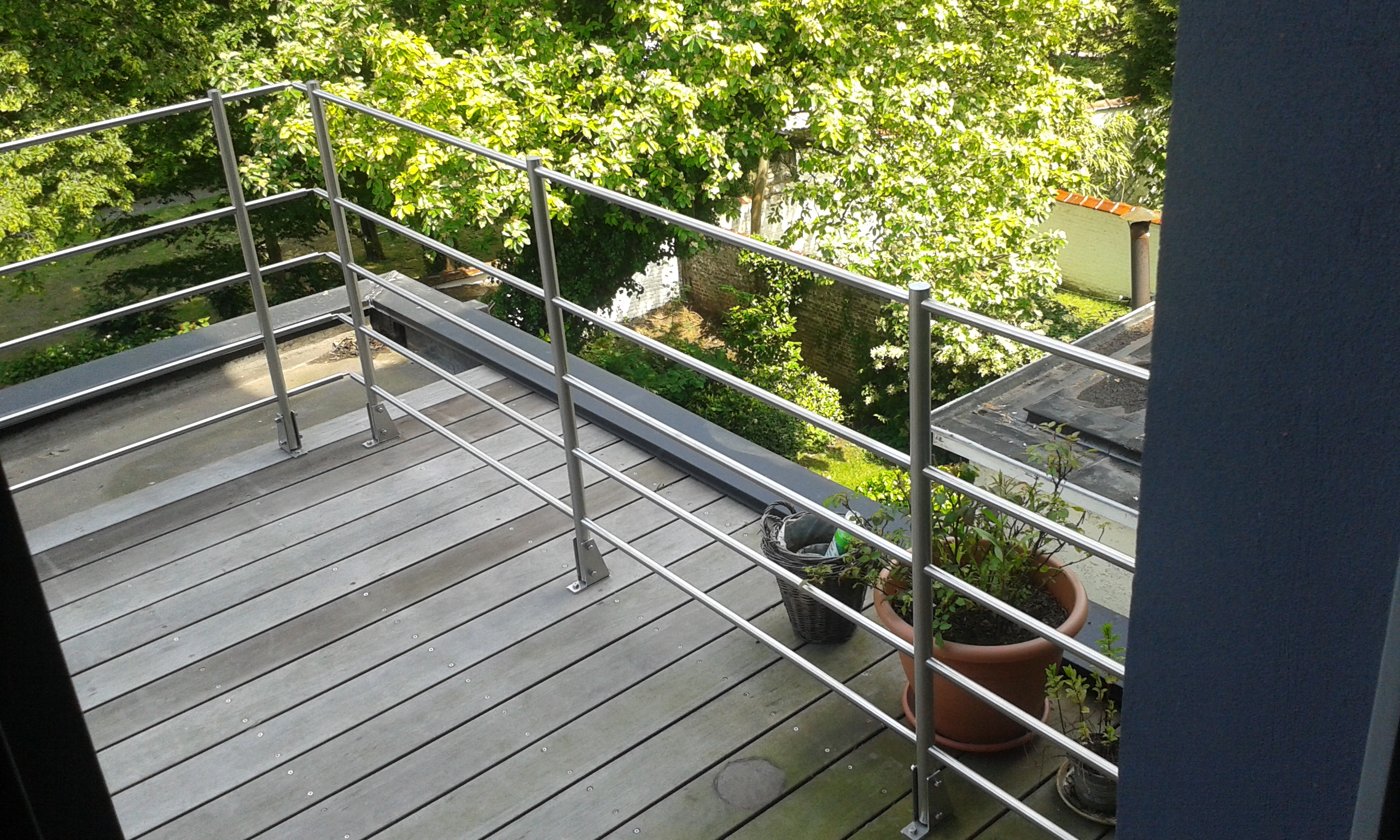 Balustrade Terrasse Castorama Kit Balustrade Escalier Perfect Pose Possible En Rampant