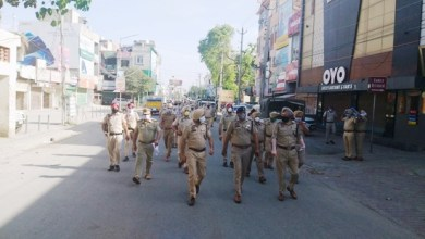 Police stage Flag March in curfew areas of Ferozepur