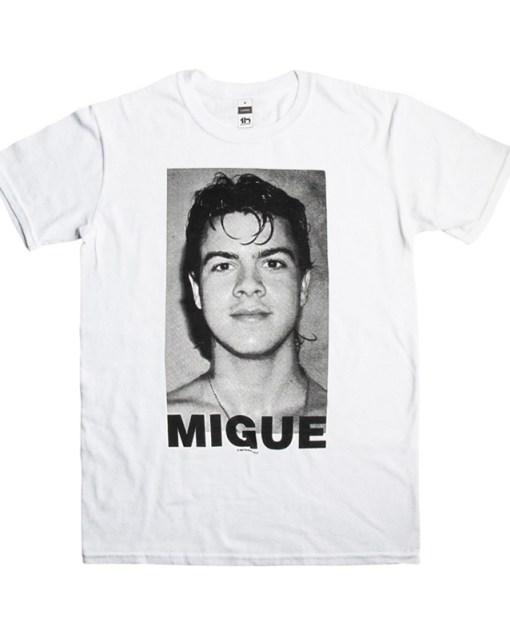 Camiseta-Hombre-Migue-Benitez-Rostro-Blanca