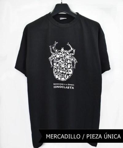 Camiseta-Hombre-Los-Delinquentes-Bienvenidos-Negra