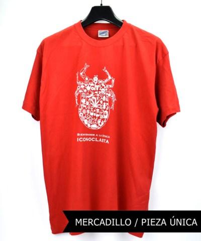 Camiseta-Hombre-Los-Delinquentes-Bienvenidos-Roja.
