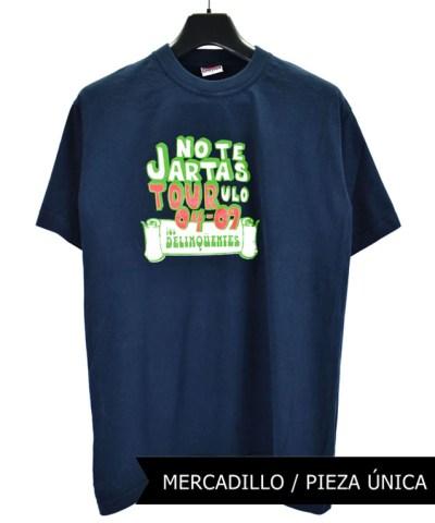 Camiseta-Hombre-Los-Delinquentes-No-Te-Jartas-Azul