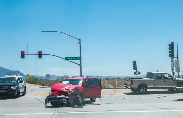Viewing a auto accident in Arizona probably caused by a DUI; it probably required a criminal lawyer to defend the perpetrator..