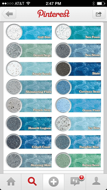 Choosing a Water Color for your Pool  FerraraBuist