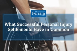 What Successful Personal Injury Settlements Have In Commo