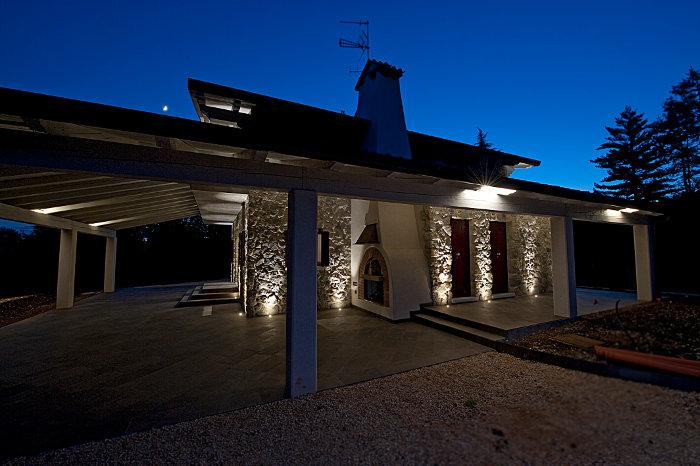 Illuminazione casa esterno protezioneazienda