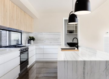 Quarzite Top Cucina | Ristrutturazione Di Un Ambiente Cucina Archidé ...