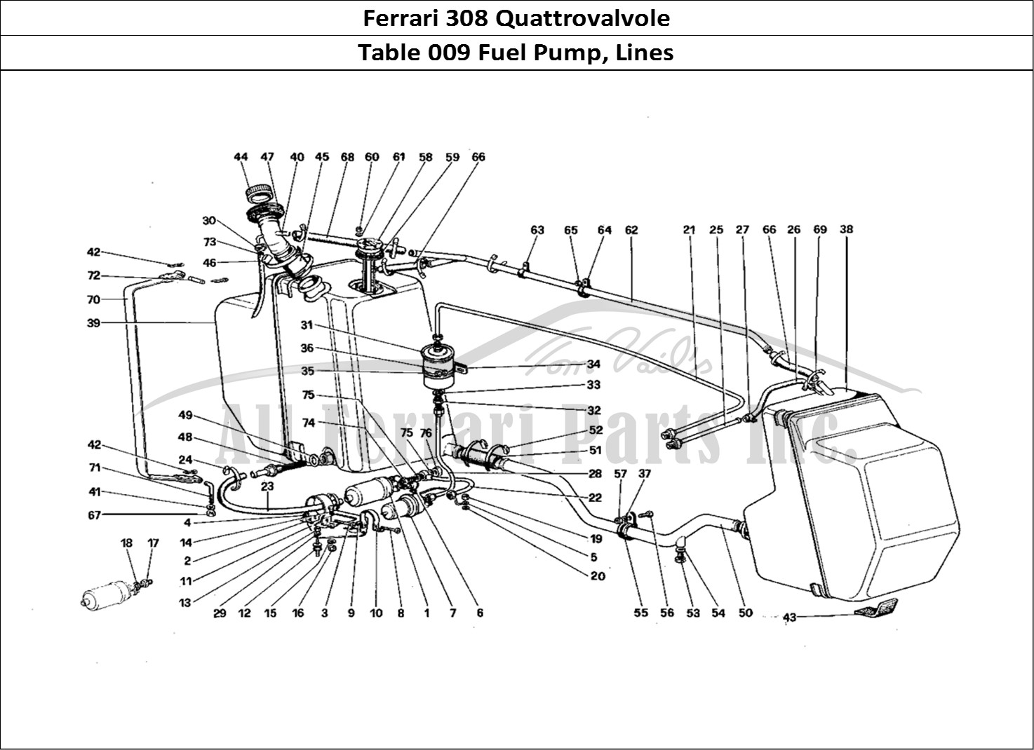 Buy Original Ferrari 308 Quattrovalvole 009 Fuel Pump