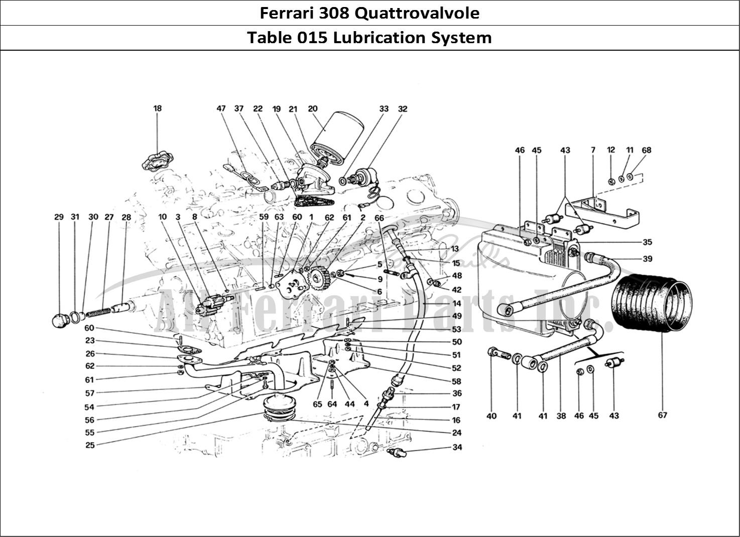 Buy original Ferrari 308 Quattrovalvole 015 Lubrication