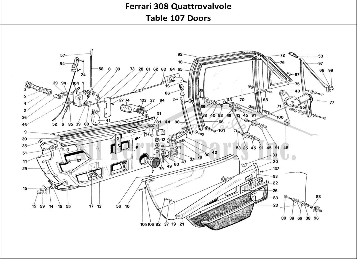 Buy original Ferrari 308 Quattrovalvole 107 Doors Ferrari