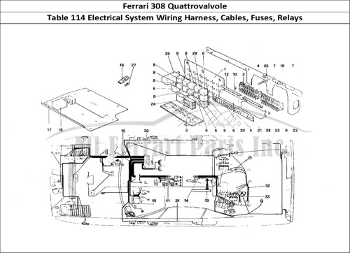 small resolution of ferrari 308 wiring diagram data wiring diagram schema rh 26 danielmeidl de nissan 240sx wiring
