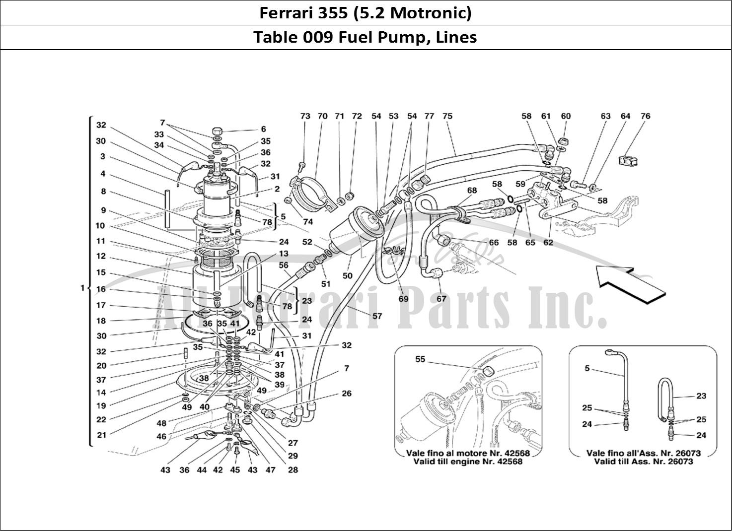 Buy Original Ferrari 355 5 2 Motronic 009 Fuel Pump
