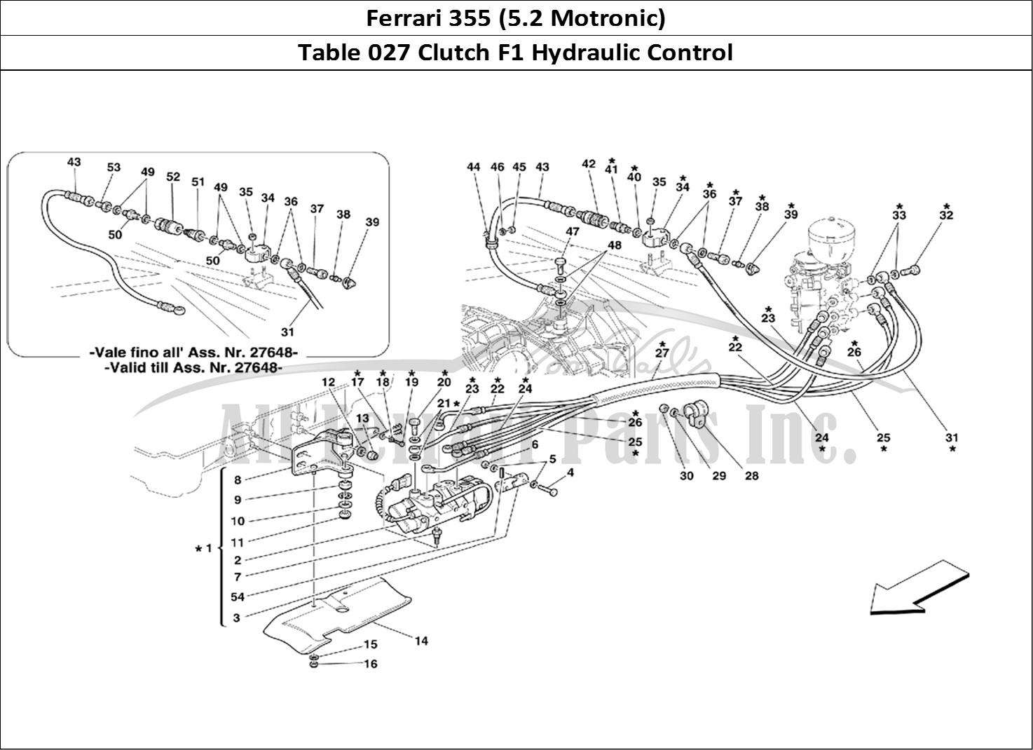 Buy original Ferrari 355 (5.2 Motronic) 027 Clutch F1