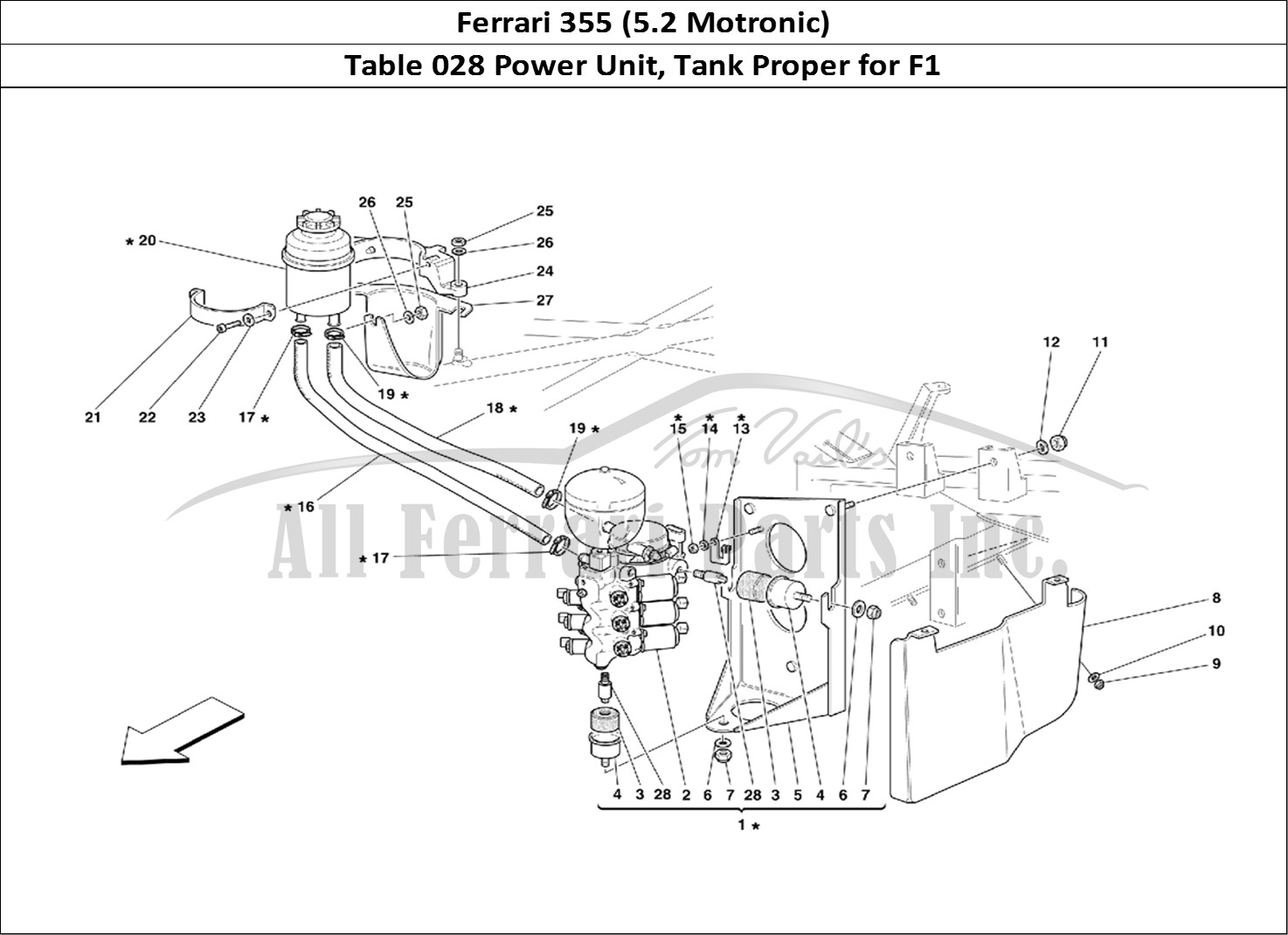Buy original Ferrari 355 (5.2 Motronic) 028 Power Unit