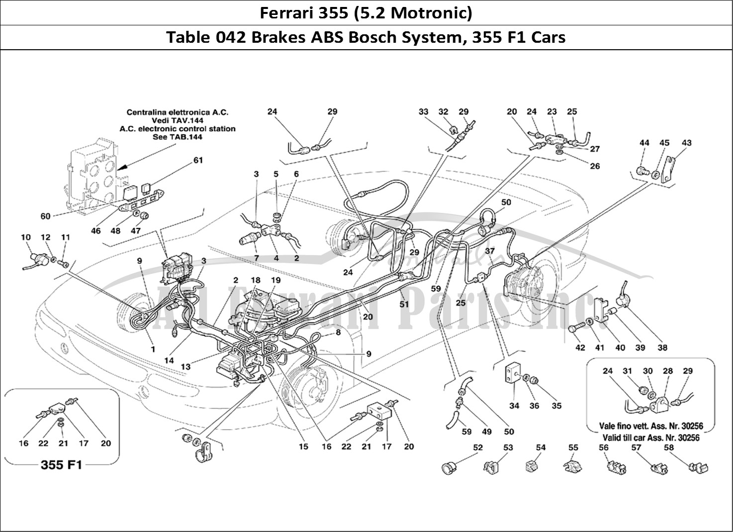 Buy original Ferrari 355 (5.2 Motronic) 042 Brakes ABS