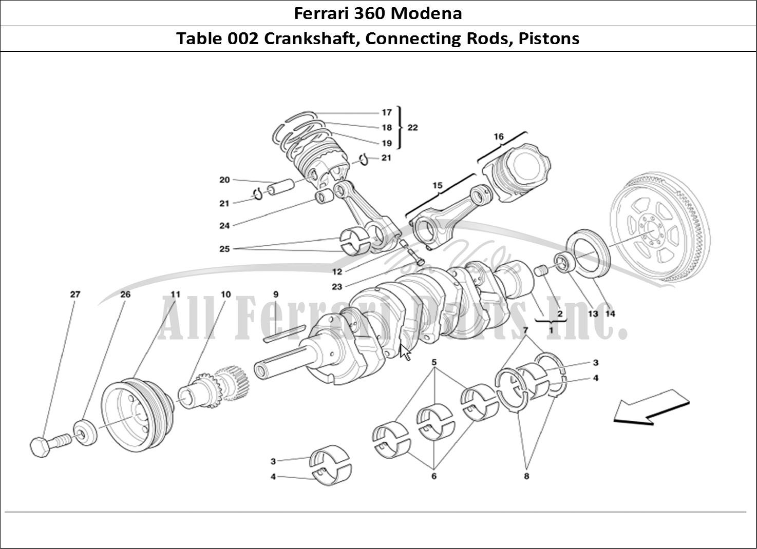 Buy Original Ferrari 360 Modena 002 Crankshaft Connecting