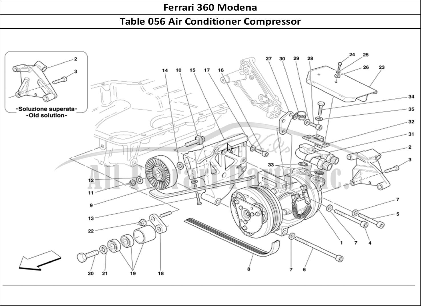 Buy original Ferrari 360 Modena 056 Air Conditioner