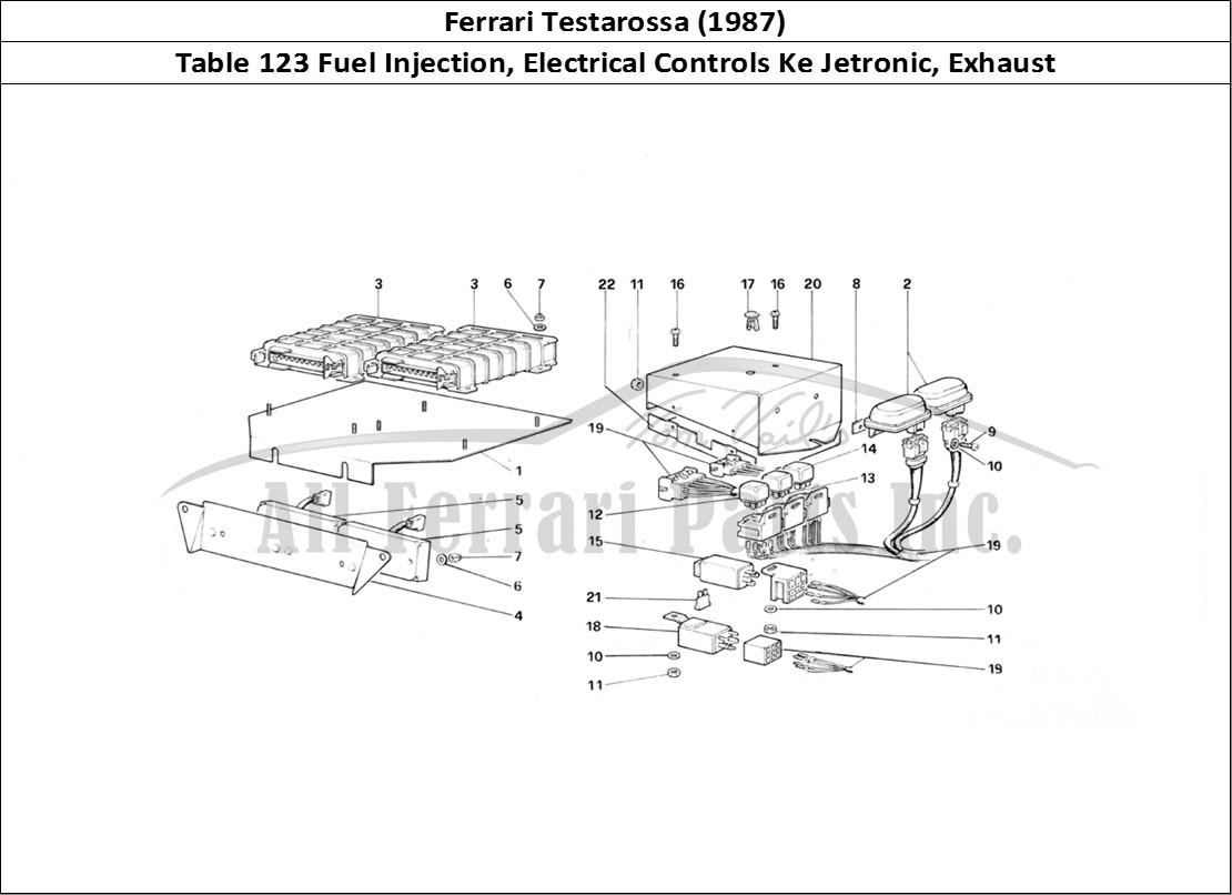 Buy original Ferrari Testarossa (1987) 123 Fuel Injection