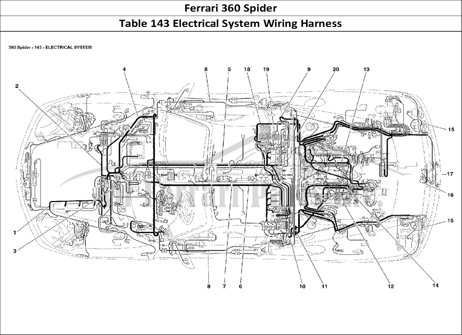 Ferrari 328 Engine Diagram. Ferrari. Auto Wiring Diagram