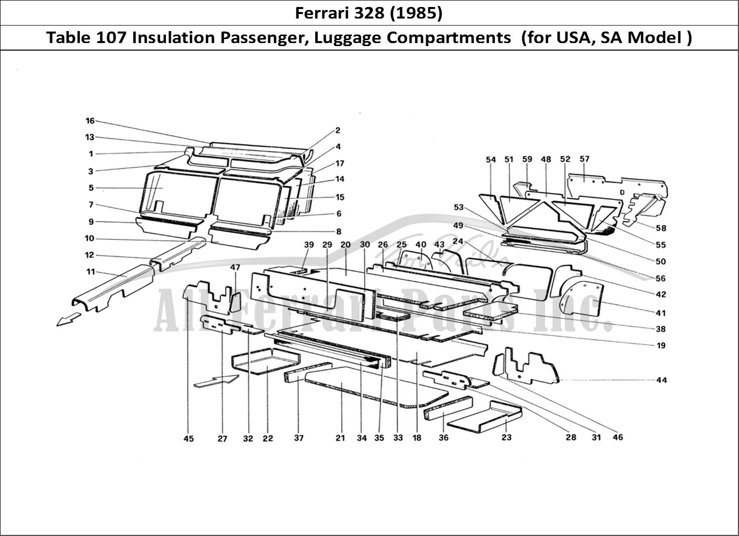 Buy Original Ferrari 328 107 Insulation Passenger