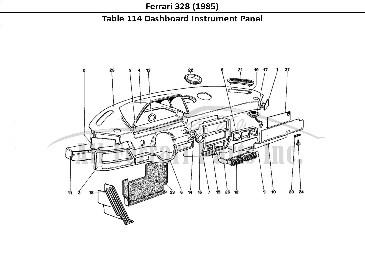 Buy original Ferrari 328 (1985) 114 Dashboard Instrument