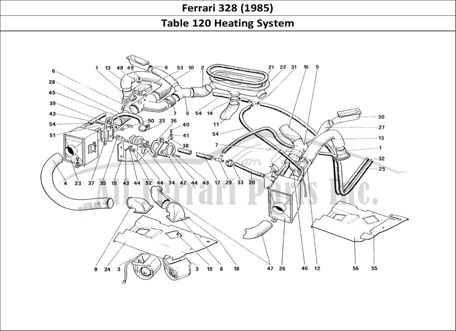 Buy Original Ferrari 328 120 Heating System Ferrari