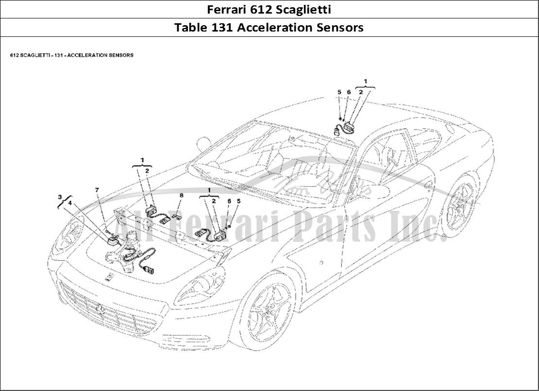 Buy original Ferrari 612 Scaglietti 131 Acceleration