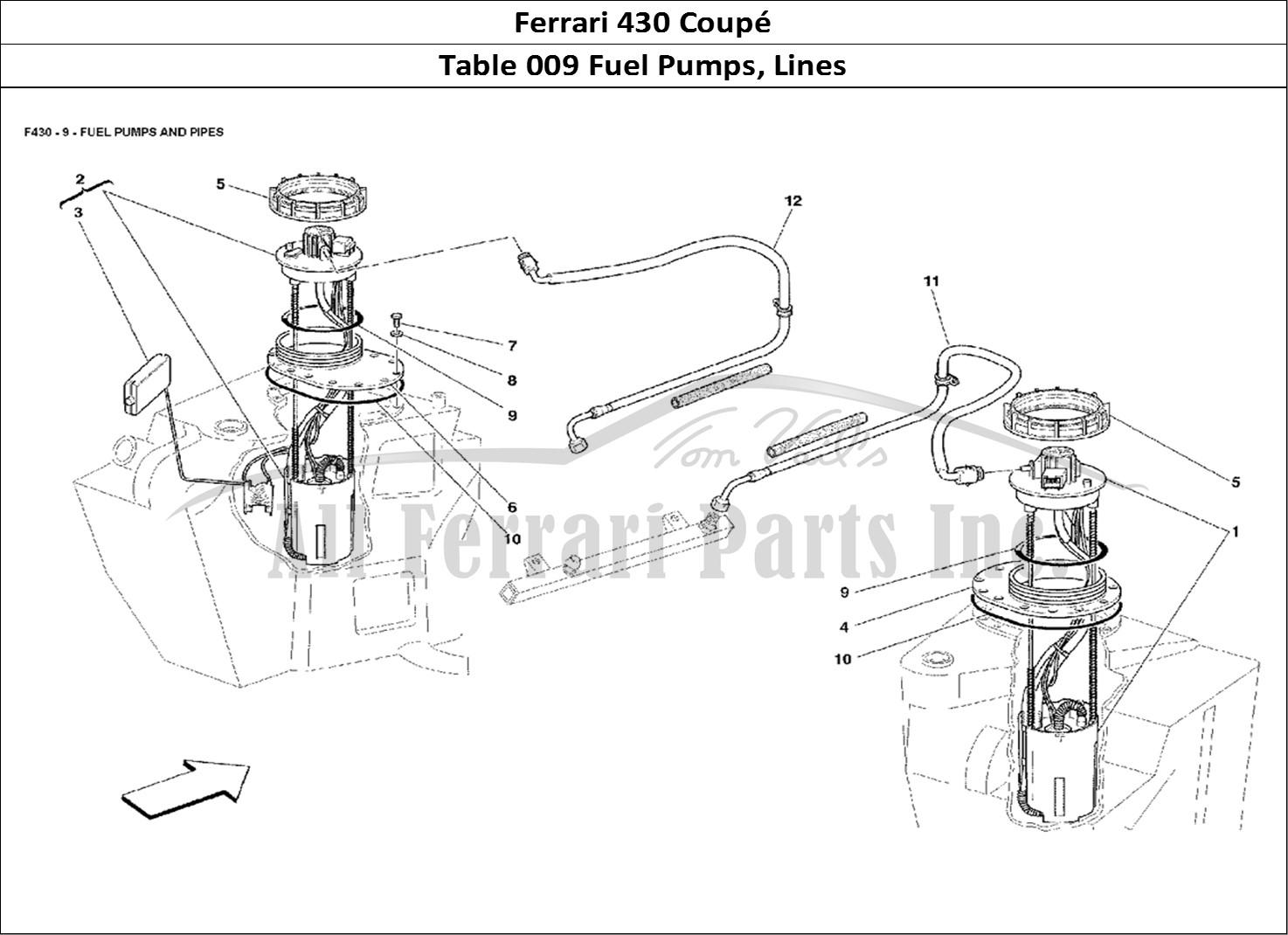 Buy Original Ferrari 430 Coupe 009 Fuel Pumps Lines