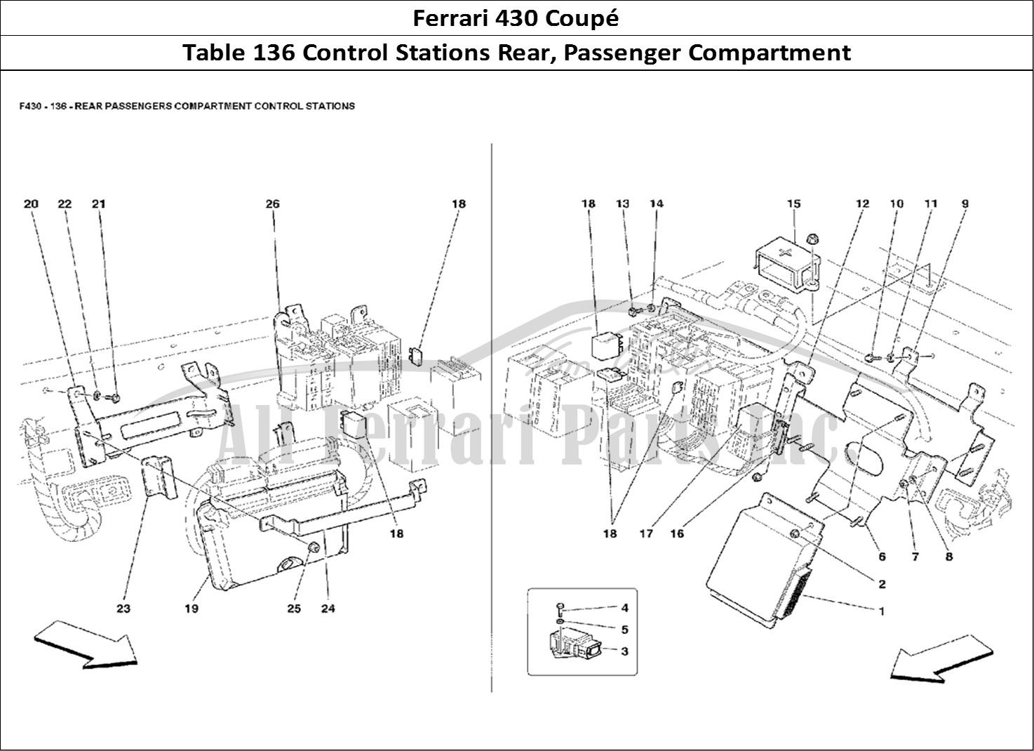 Buy original Ferrari 430 Coupé 136 Control Stations Rear