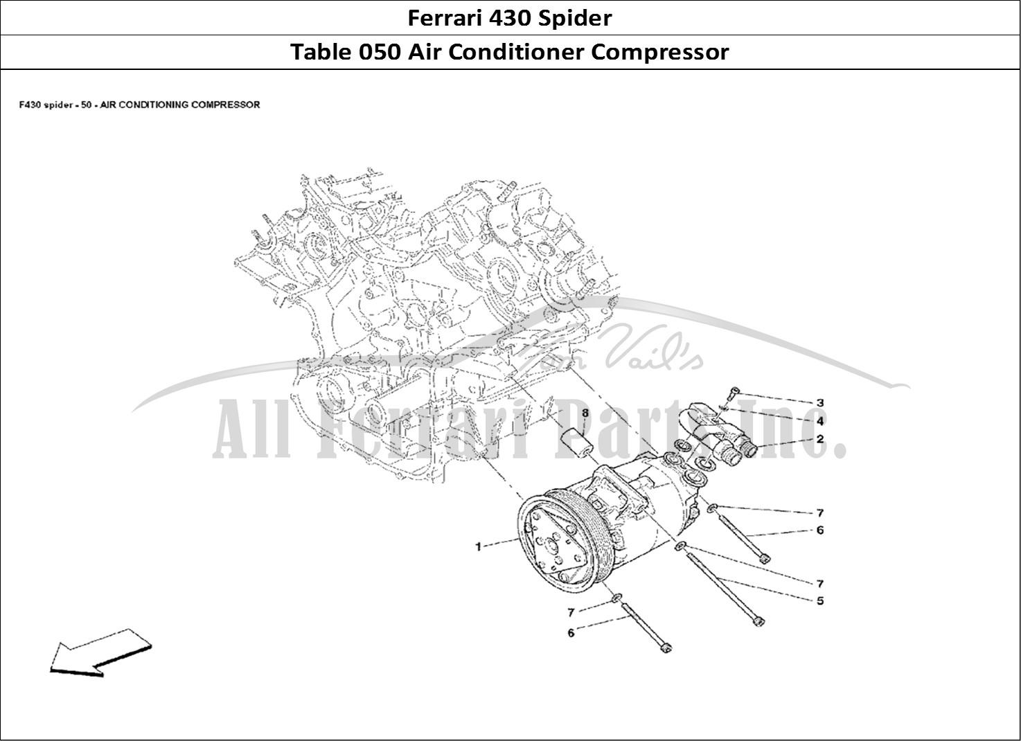 Buy original Ferrari 430 Spider 050 Air Conditioner