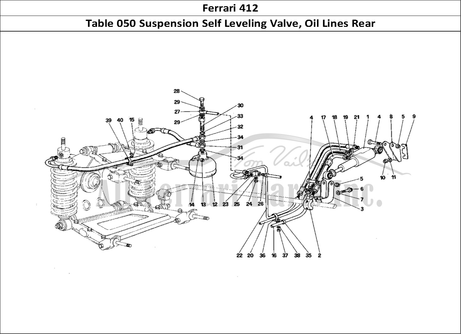 Buy original Ferrari 412 050 Suspension Self Leveling