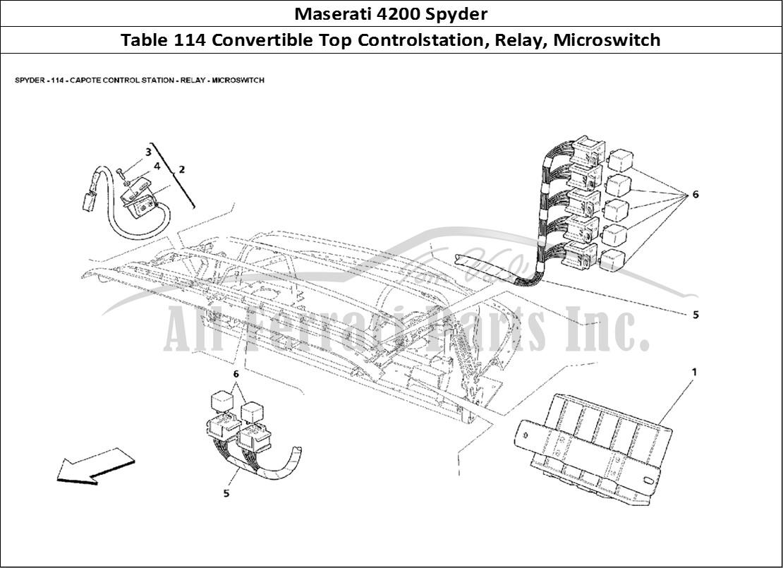 Buy original Maserati 4200 Spyder 114 Convertible Top