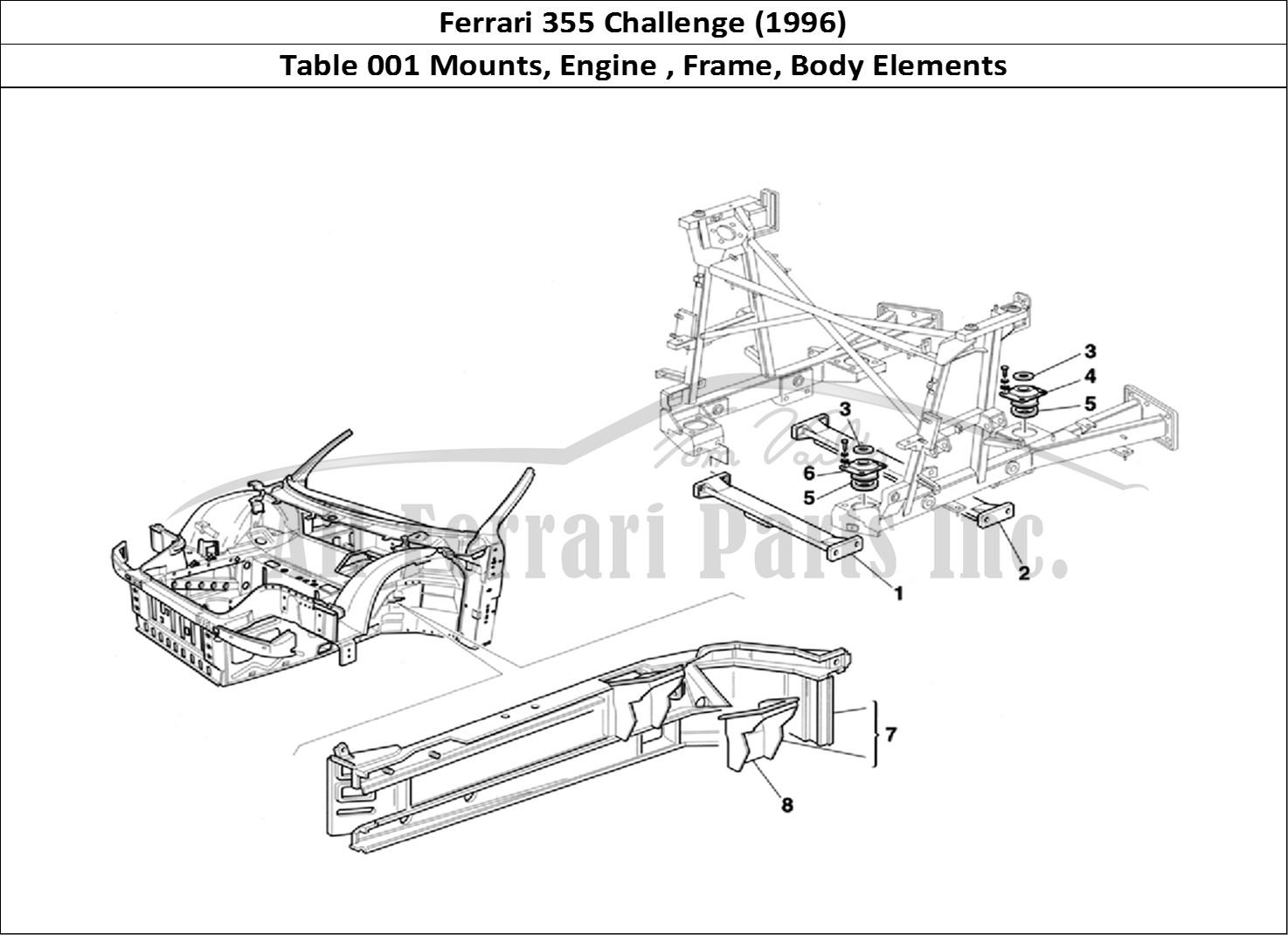 Buy Original Ferrari 355 Challenge 001 Mounts