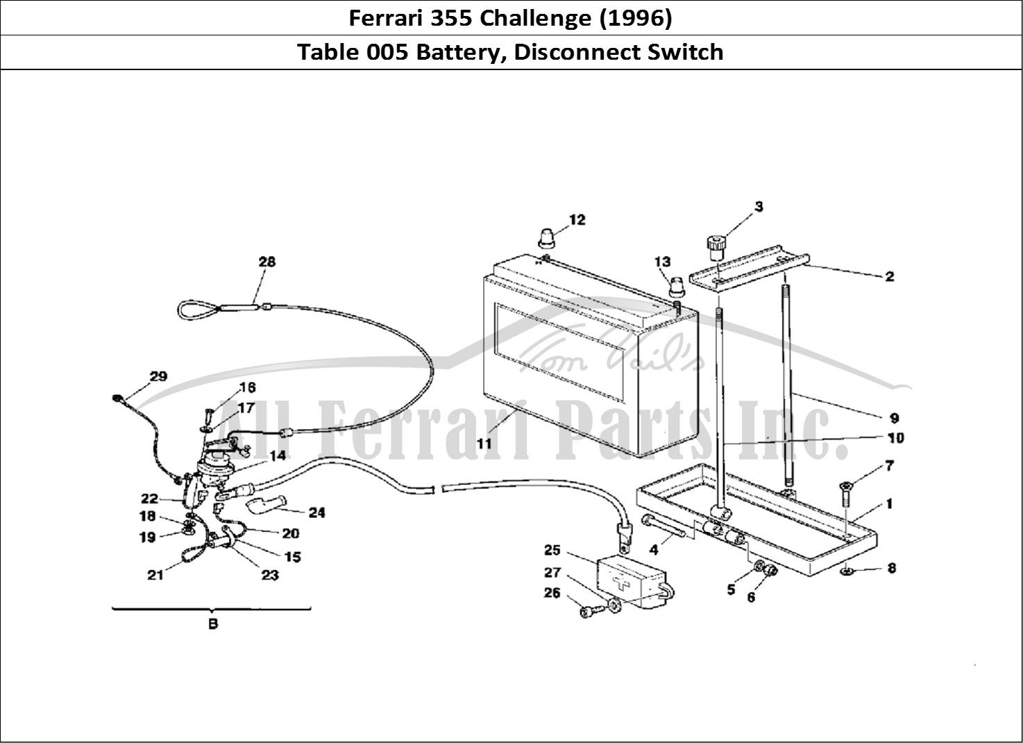 Buy original Ferrari 355 Challenge (1996) 005 Battery