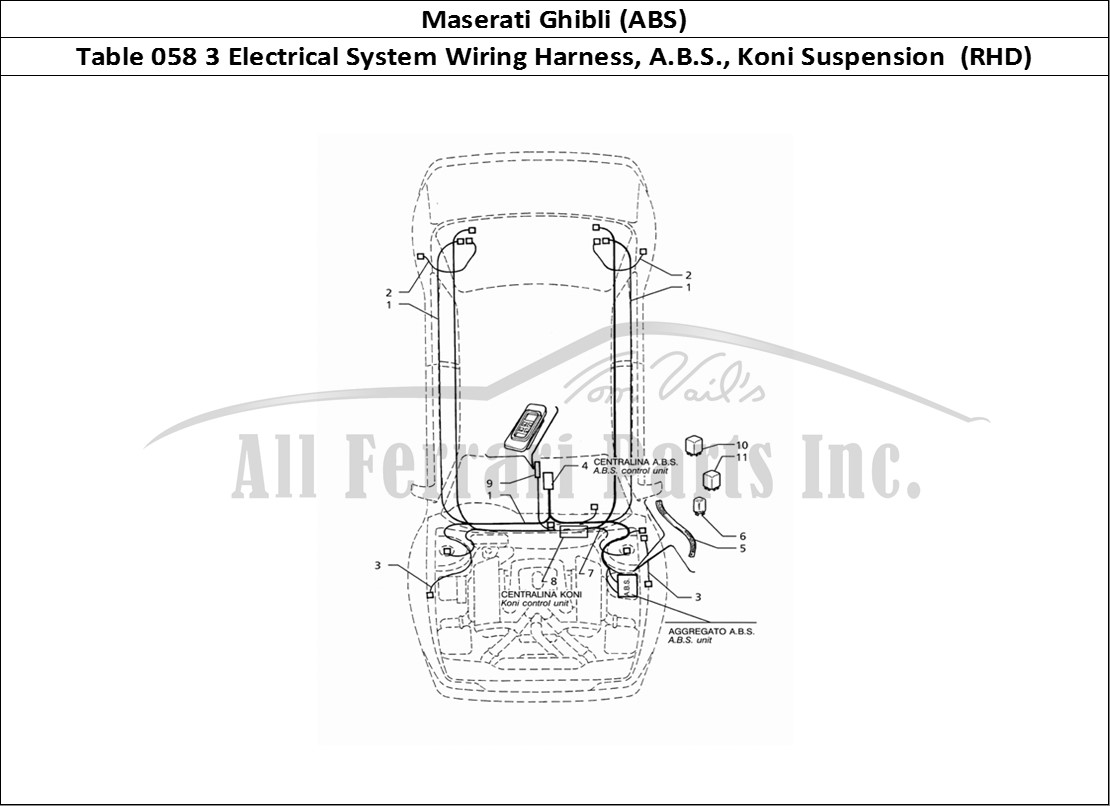 Buy Original Maserati Ghibli Abs 058 3 Electrical System