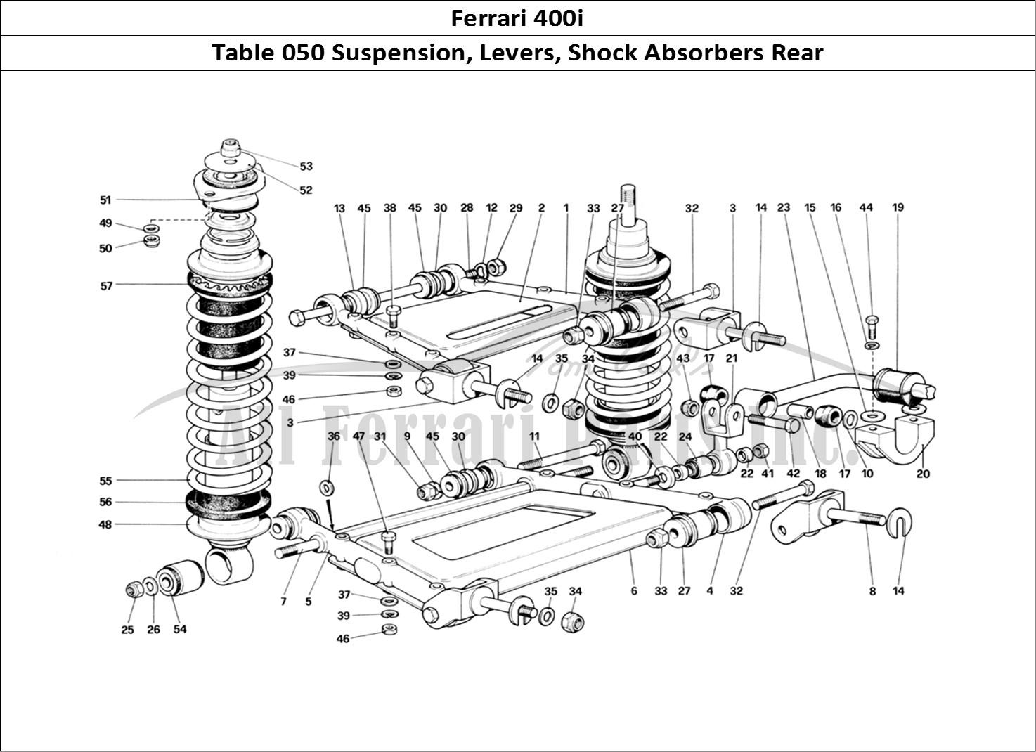 Buy Original Ferrari 400i 050 Suspension Levers Shock